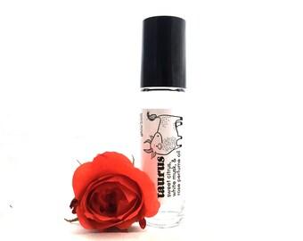 Taurus Zodiac Perfume Oil - Astrology Gift - Floral Fragrance - Roll On perfume - Taurus Birthday - Vegan Perfume Roller Ball