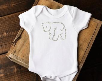 Little Bear Onesie Boho Baby Clothes Newborn Baby Onesie