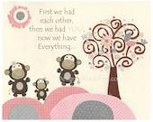 Monkey Nursery, Baby Girl...