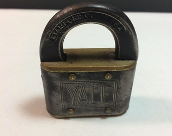Yale &  Towne Mfg. Co. padlock.
