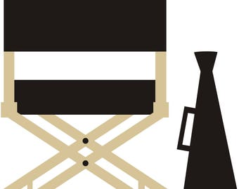 Director's Chair SVG