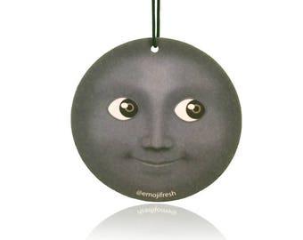 EmojiFresh Moon Emoji Car Air Freshener (3 Pack) - Berries Scent
