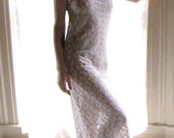 See Through Lingerie - sheer weeding dress - see through maxi dresses - sheer dress - upcycled clothing - see through wedding dress - sheer