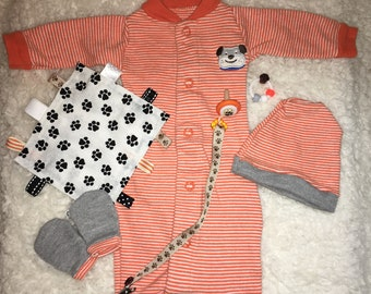 Outfit Set 12-14'' Silicone/Reborn Baby (Doll NOT  for Sale)