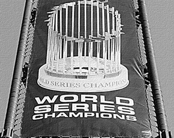 Chicago White Sox Canvas Art / World Series Banner at U.S. Cellular Field