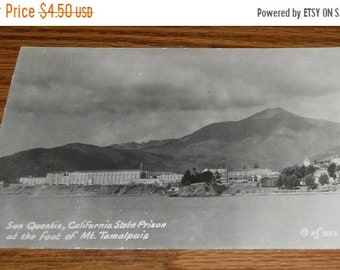 20% Off 1953 Real Photo Postcard~San Quentin, California State Prison From Mt. Tamalpais