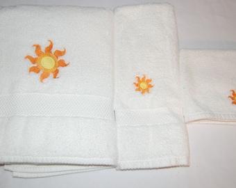 Princess Celestia Embroidered Towel Set