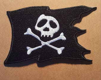 Pirate Flag Iron On Patch