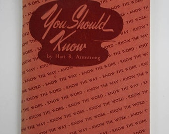 Paperback Study Guide, Know the Word, The Word of God, Know the Way, Know the Work