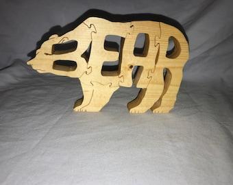 Bear Jigsaw Puzzle