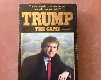 Vintage Donald Trump Game Retro Board Game Night