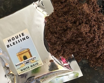Powdered Incense - House Blessing scent - hoodoo - witchcraft - pagan