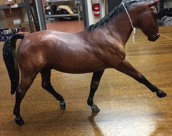 Breyer horse brown and black
