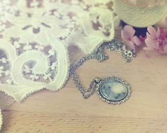 Moon Necklace, Moon, Full moon, Wicca