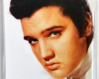 Elvis Presley movie poster Square Fridge Magnet & Square Keyring #8 - New - Tickle Me King Creole Kid Galahad Flaming Star Blue Hawaii