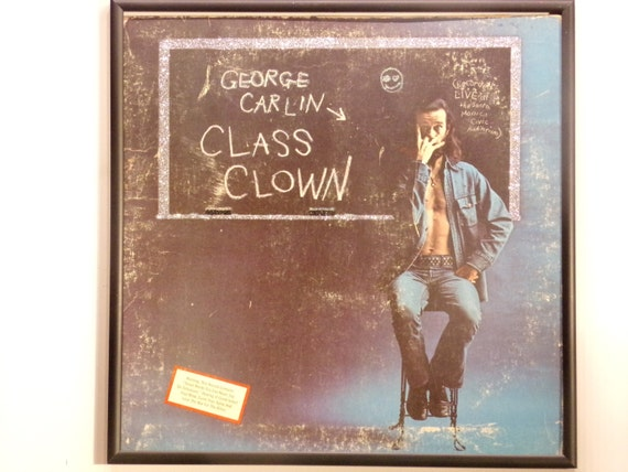 Glittered Record Album - George Carlin - Class Clown