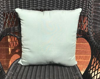 Sunbrella Canvas Spa Pillow Water Resistant