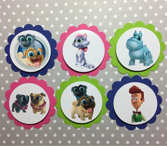 Puppy Dog Cake Toppers