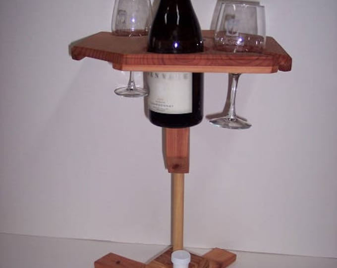 Featured listing image: Portable Wine Table With Stand
