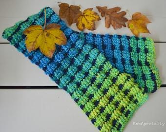 Stoere jongens sjaal *Haakpatroon*