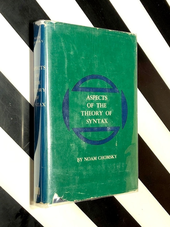 Aspects of the Theory of Syntax by Naom Chomsky (1965) hardcover book