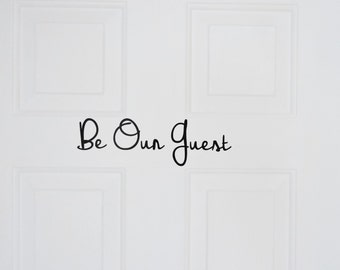 Guest Room Decal