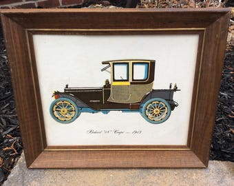 Vintage print of Packard 48 Coupe 1913