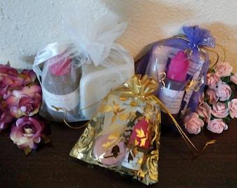 Henna Starter Kit in Sheer Organza Fabric Gift Bag