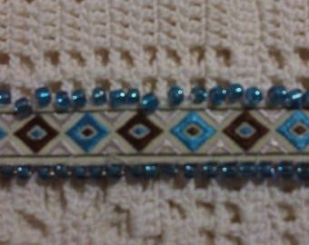 Bracelet woven Ribbon