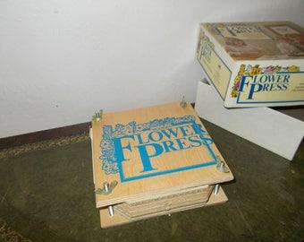 Vintage Michael Standfield Flower Press