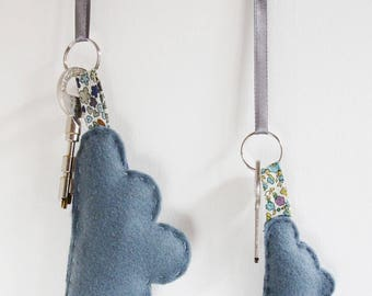 For one grey cloud Keychain sewing kit