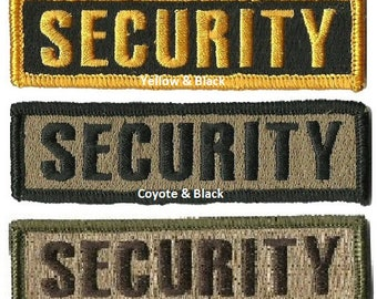 """BuckUp Tactical Morale Patch Hook Security Morale Patches 3.75x1"""" Sized"""