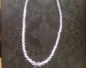 Pink Crystal Necklace perfect gift