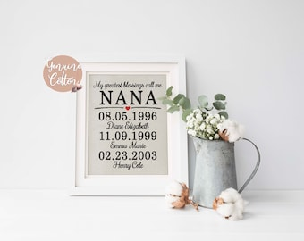 Mothers Day Gift from Son Mothers Day Family Tree Mothers Day Gift for Grandma Gifts for Mom, Mothers Day Gift for Nana Gifts from Daughter