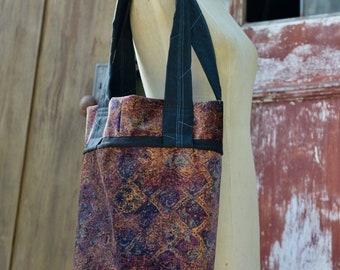 Pour Daphné, sac de marché noir