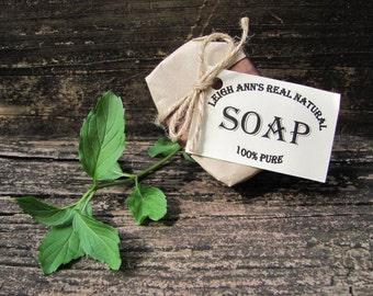 5 Bars Tea Tree Soap <Handmade-Natural-Aromatherapy-EssentialOils-Herbal-TroubledSkin-Face Soap>