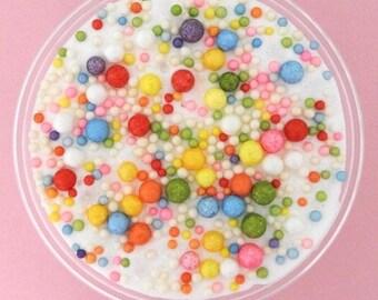 Raibow floam slime
