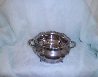 Vintage Rogers Bros. Silverplate Wine Coaster With Insert