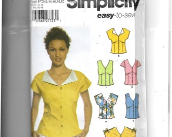 Simplicity  Misses' Tops Pattern 5059