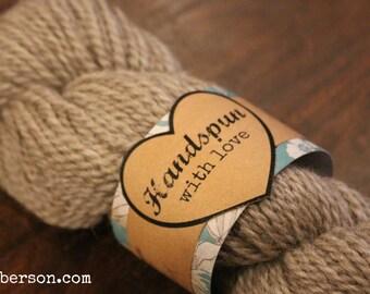 Handspun with Love printable gift tag