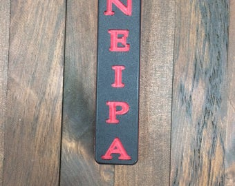 Beer Tap Handle with Engraved Beer Style