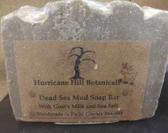Dead Sea Mud Soap Bar with Almond Milk
