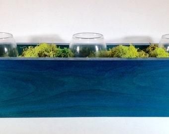 Blue Wooden Box