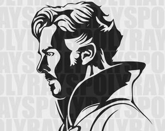 Doctor Strange svg, Dr. Strange svg, Marvel svg, Doctor Strange digital, Marvel character instant download, Marvel Cricut ready-to-cut file