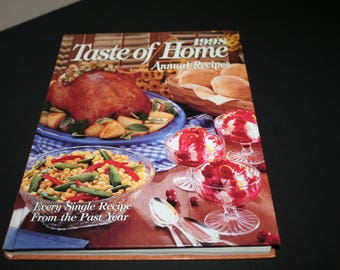 Taste of Home Annual Recipes, 1998 Cookbook