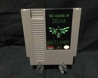 Legend of Zelda Outlands Nintendo NES Game