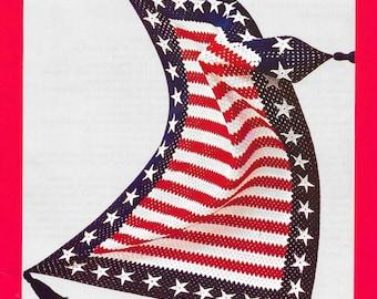 Stars and Bars Afghan - Crochet Pattern - Digital