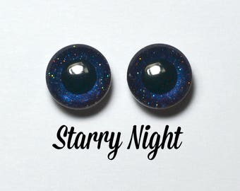 Eyechips 13 mm - Coloris Starry Night Taille Pullip Modèles Récents