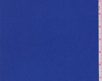 Royal Blue Rib Knit, Fabric By The Yard
