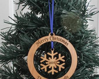 Personalized Ornament - Snowflake